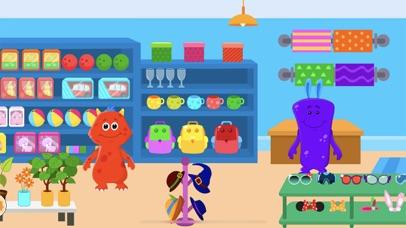 My Monster Town - Supermarket screenshot four