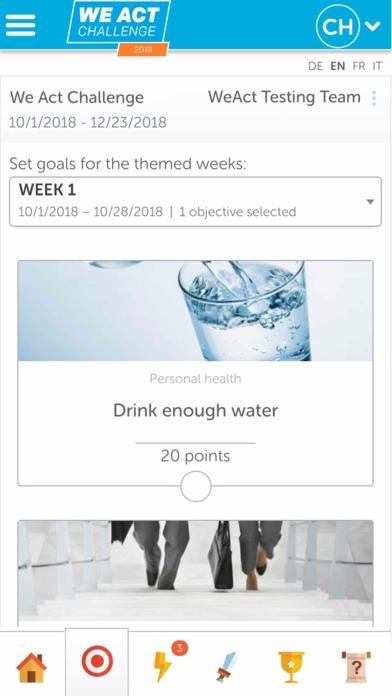 WeAct Challenge screenshot three
