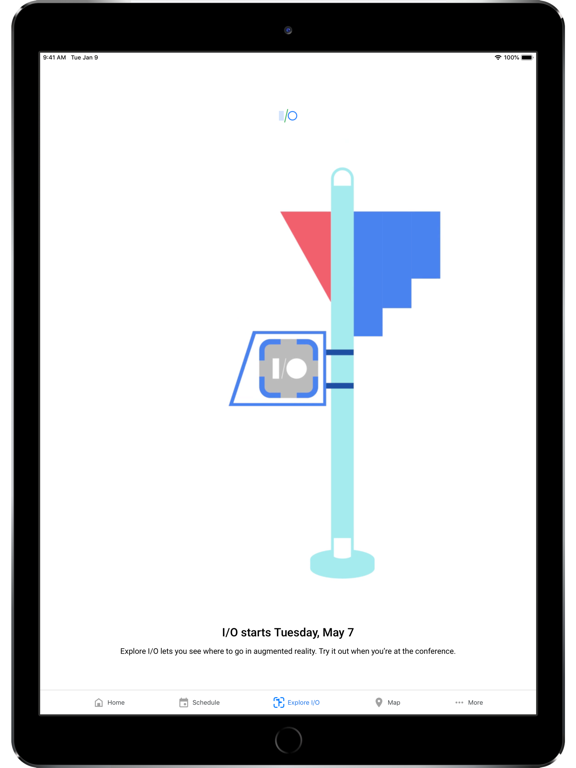 Ipad Screen Shot Google I/O 4