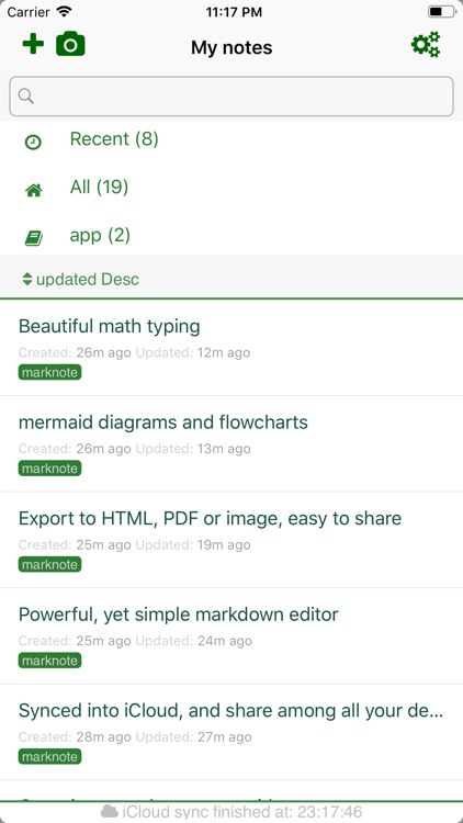 MarkNote - Markdown Note screenshot-1