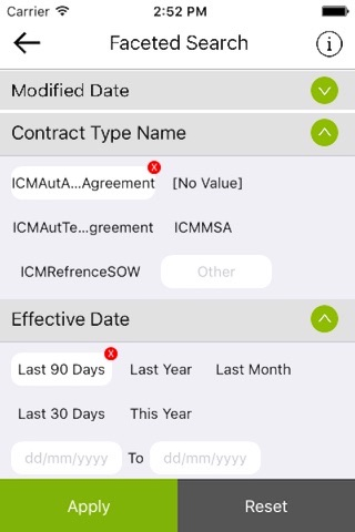 Icertis Contract Management - náhled
