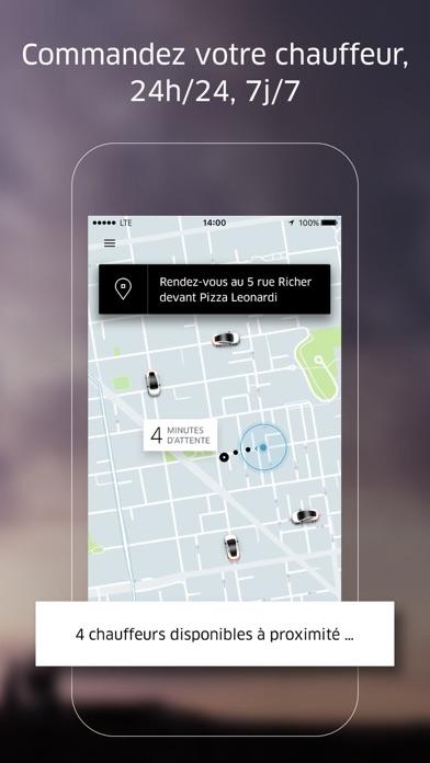 Uber sur pc