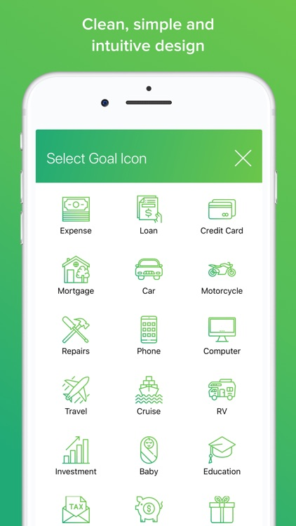 My Money Goals: Track Finances