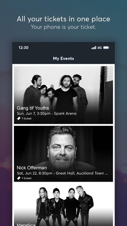Ticketmaster NZ screenshot-4