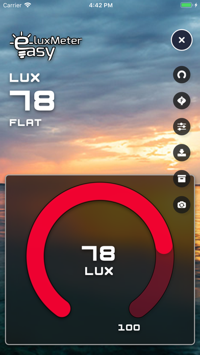 Screenshot for LuxMeter Easy in United States App Store