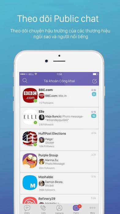 Screenshot for Viber Messenger in Viet Nam App Store