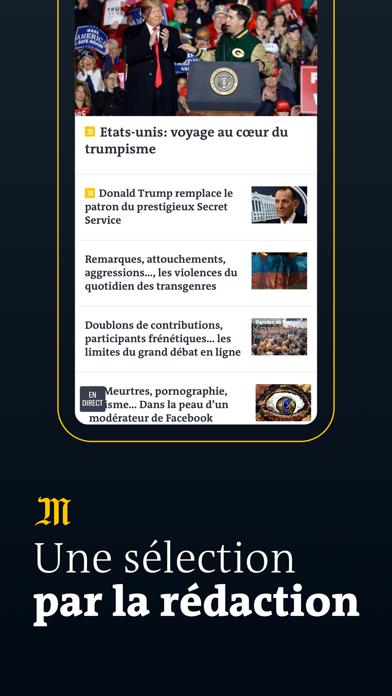 Le Monde, l'info en continu Screenshot