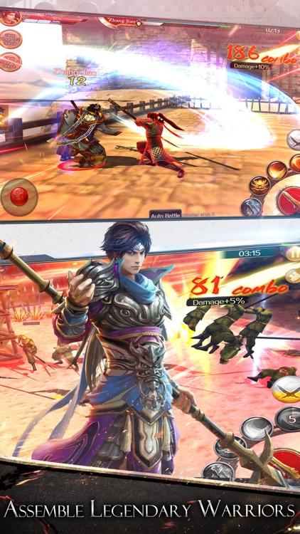 Dynasty Legends:Warriors Unite screenshot-3