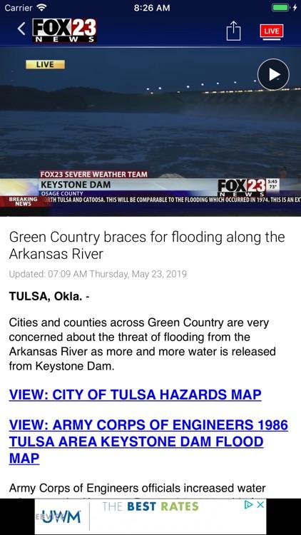 Fox 23 News Tulsa screenshot-4