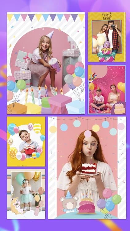 Happy Birthday Cards & Frames