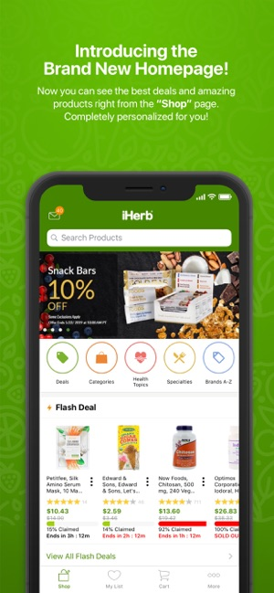 iHerb on the App Store