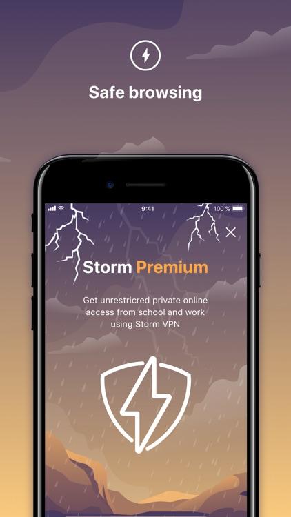 Storm VPN - Safe and Secure