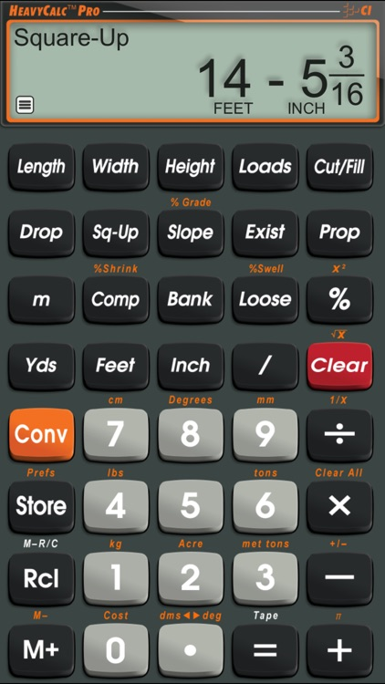 HeavyCalc Pro screenshot-0