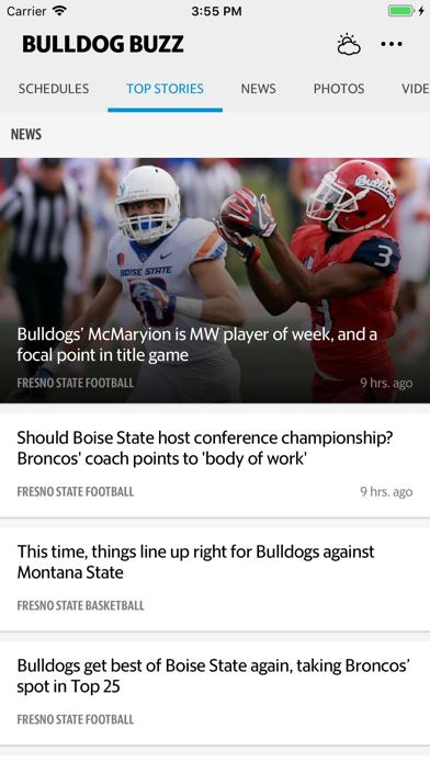 Bulldog Buzz Sports Screenshot