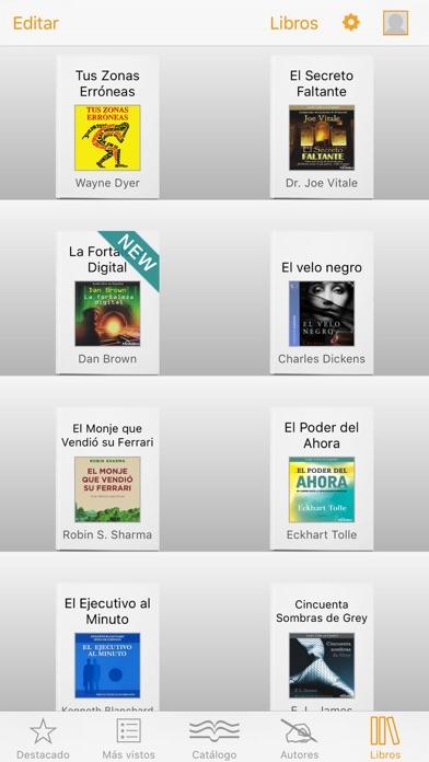 Libros y Audiolibros Español Screenshot