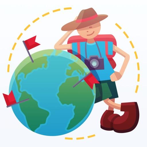 Mark O'Travel - あなたの旅行マップ。