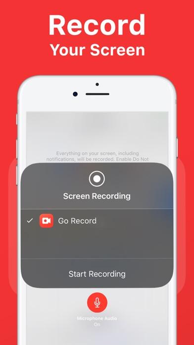 Go Record: Screen Recorderのおすすめ画像1