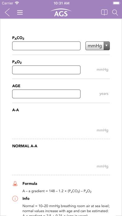 Geriatrics At Your Fingertips Screenshot