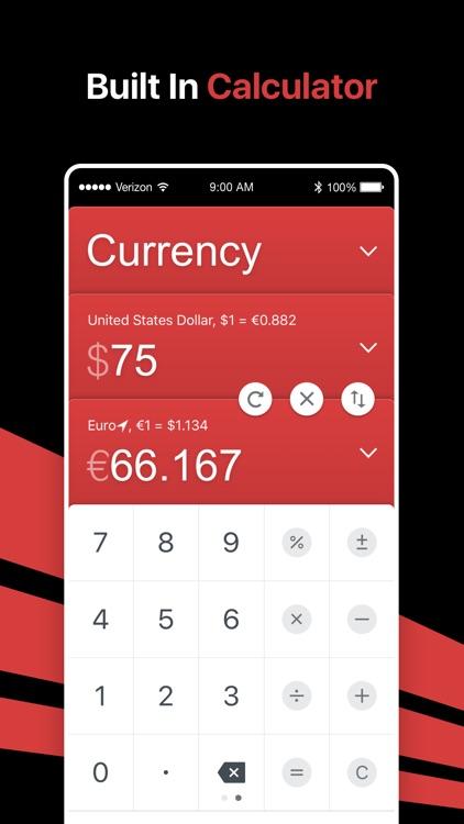 GlobeConvert Currency & Unit screenshot-5