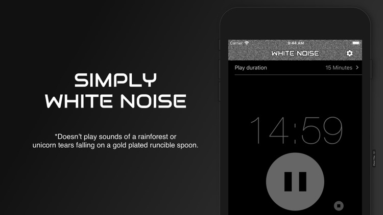 White Noise Baby Calming Sound screenshot-4