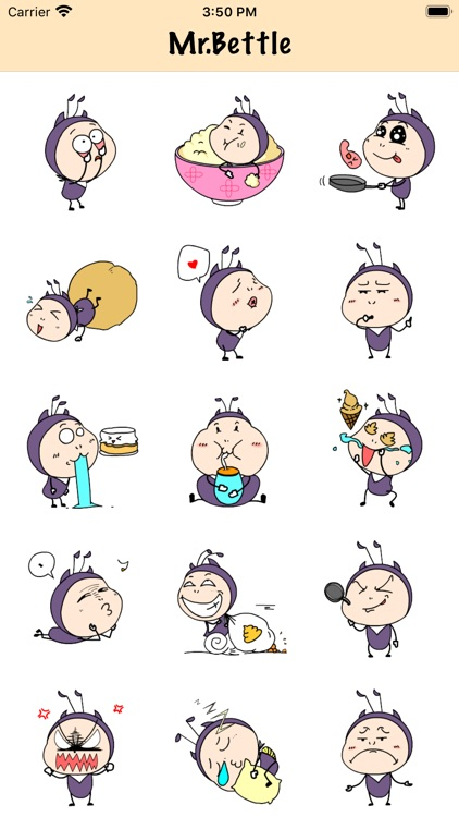 Mr.Beetle Stickers