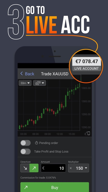Libertex - mobile trading screenshot-3