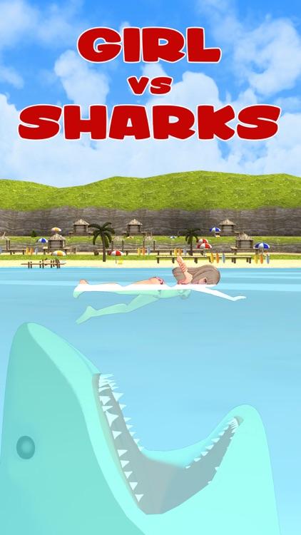 Girl VS Sharks: Meg Attack!