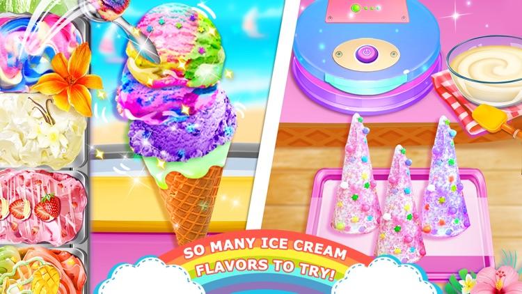 Unicorn Chef: Ice Foods Games screenshot-3