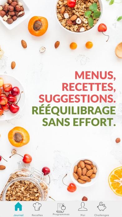 Screenshot #1 pour DietSensor - Calorie et regime