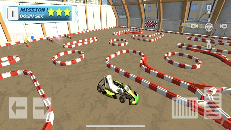 3D Go Kart Racing SIM screenshot-0