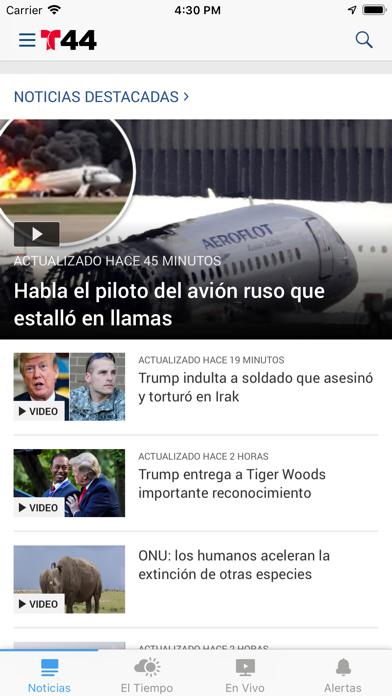 Telemundo 44 screenshot 1
