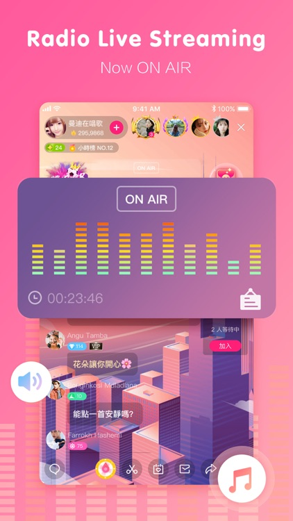 MeMe Live - Live Streaming App screenshot-0