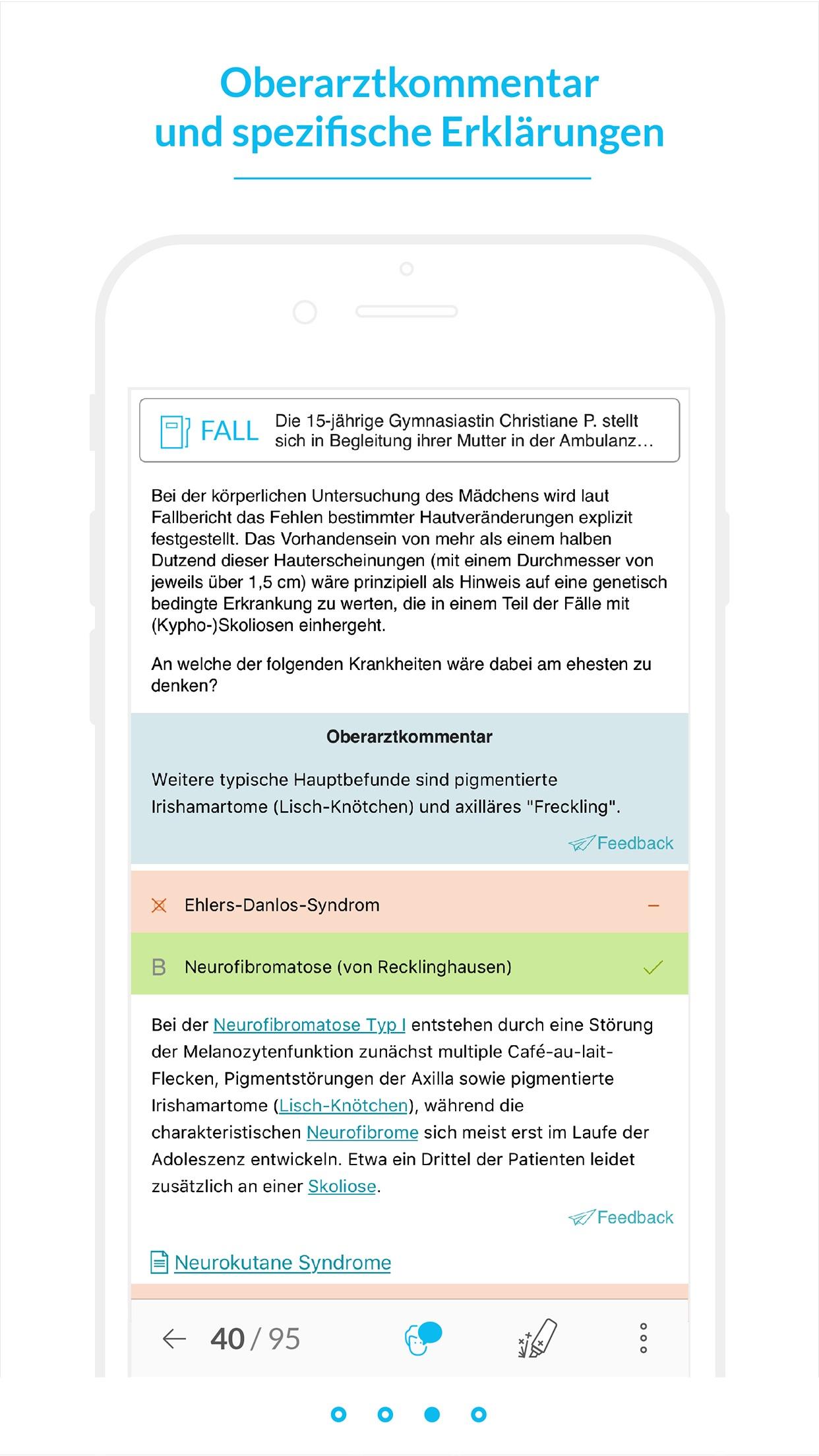 AMBOSS Kreuzen für Mediziner Screenshot