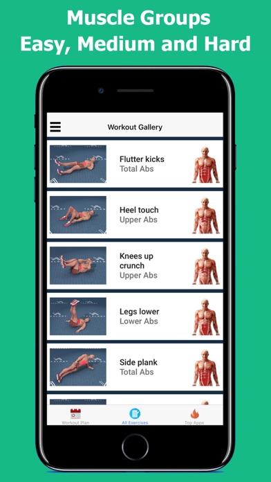 Screenshot for Six Pack in 30 Days in Czech Republic App Store