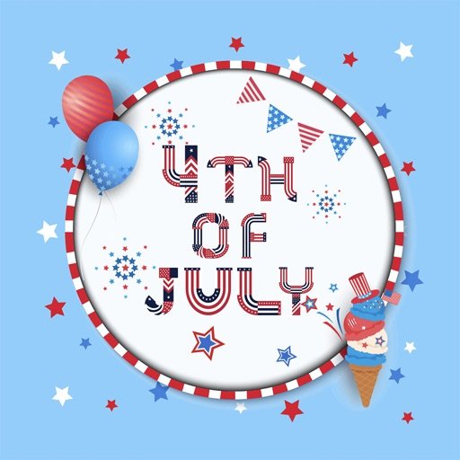 4th of July - CUstom FONt