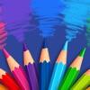 Coloring Game Book sea animals