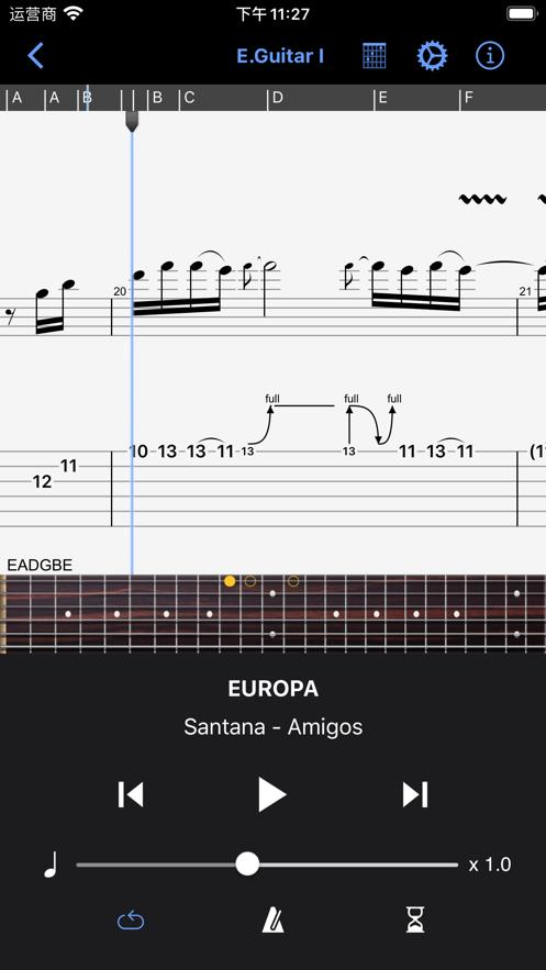 Guitar Pro App 截图