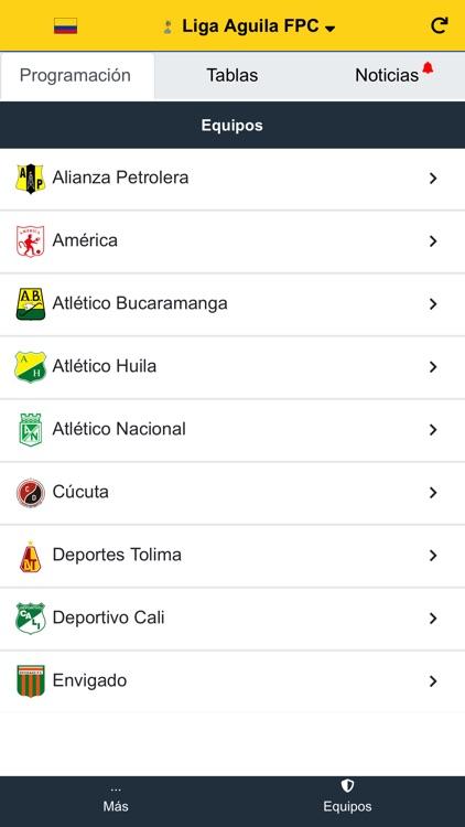 Liga Aguila Futbol Profesional screenshot-3