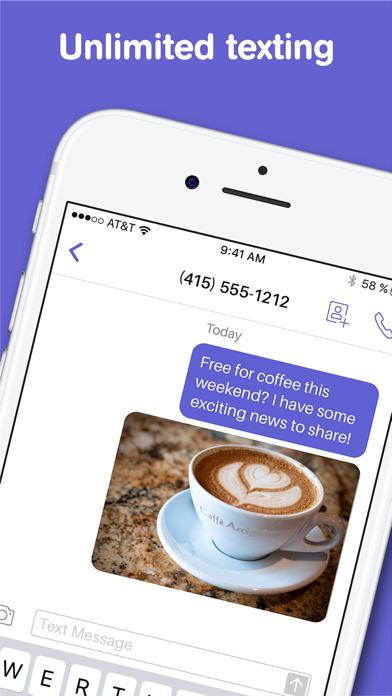 Text Free: Texting + Calling Screenshot