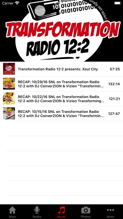 Transformation Radio screenshot-1