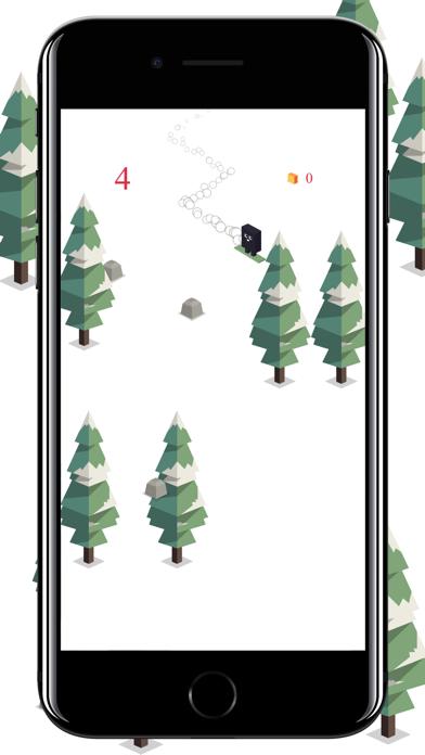 Forest Skiing screenshot #4