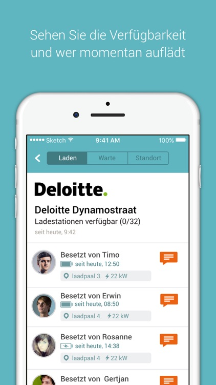 NewMotion: Group Charge App