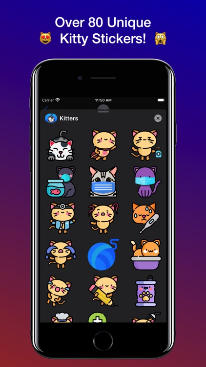 Kitters! Cat Stickers