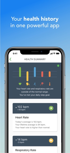 Qardio heart health on the App Store