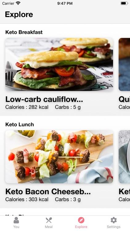 Keto Diet App & Keto Recipes screenshot-3