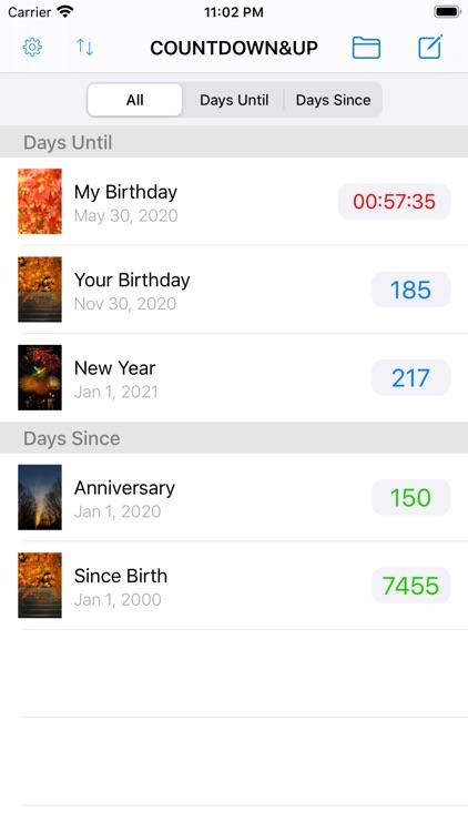 Countdown & Count Up Timer screenshot-3