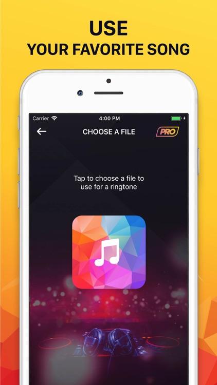 Ringtones for iPhone (Song) screenshot-4