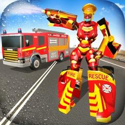 Robot Fire Truck Driver 2020