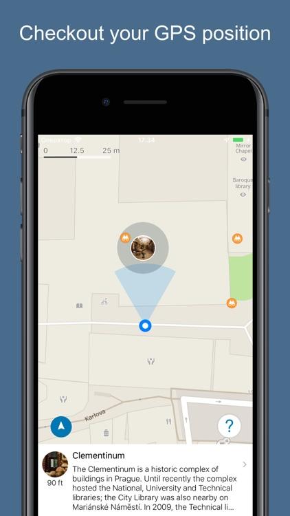Prague 2020 — offline map screenshot-3