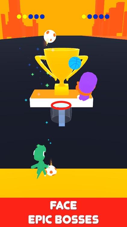 Basket Race 3D screenshot-3
